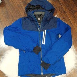 Orage Men's Blue Snow Jacket | XS